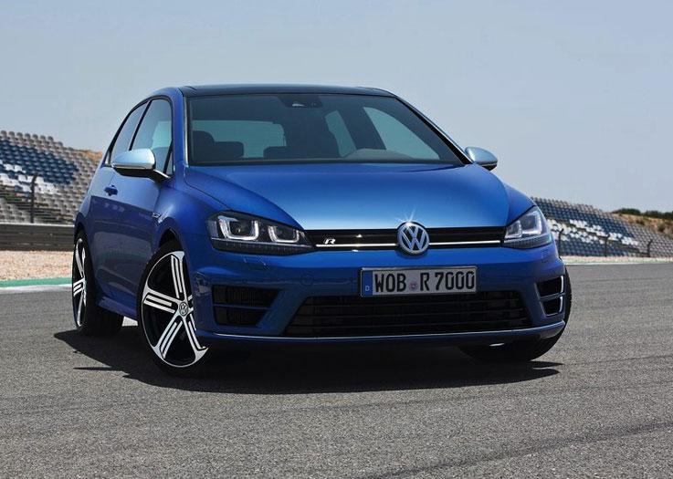 VW Golf uit buitenland